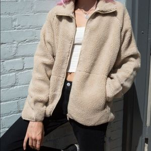 Willow Shearling Jacket Brandy Melivlle